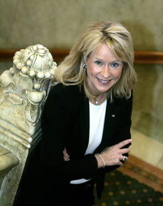 Allein unter Männern: Im Vorstand der Wallenberg-Bank SEB ist Falkengren die einzige Frau