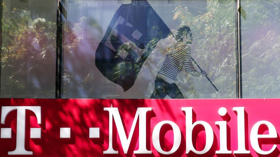 T-Mobile Shop in New York: Neue Gespräche mit Sprint über eine Fusion