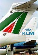 Geht KLM mit anderen Fluglinien unter?