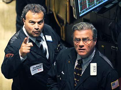 Anspannung: Die Märkte werden laut Experten noch einige Zeit nervös bleiben