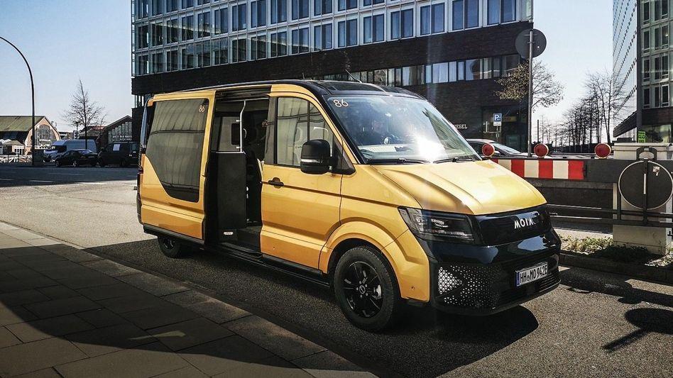 Gold von gestern: VWs Shuttle-Bus Moia ist sagenhaft teuer.