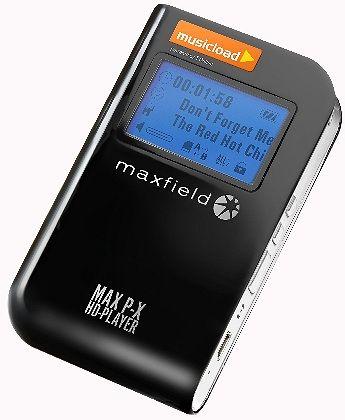 Musicload-Player Max P-X: Kopie des iPod-Prinzips