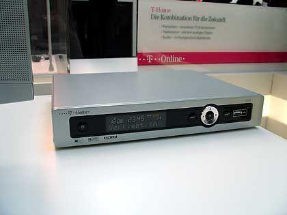 Notwendiges Equipment: Settop-Box von T-Online