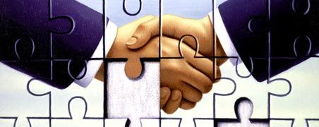 Shake hands: Für einen erfolgreichen Abschluss muss man kein Genie sein