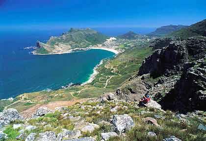 Atemberaubendes Panorama: Der Blick auf Hout Bay