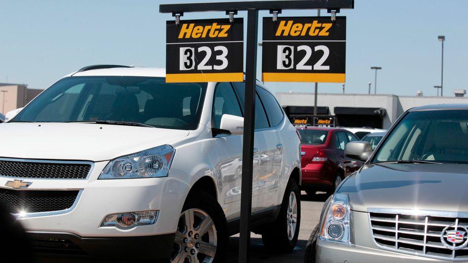 US-Verleiher Hertz: Einen Mietwagen zu ergattern, ist derzeit in den USA wie ein Lottogewinn