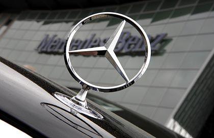 DaimlerChrysler-Marke Mercedes-Benz: An der Börse heute unter Druck