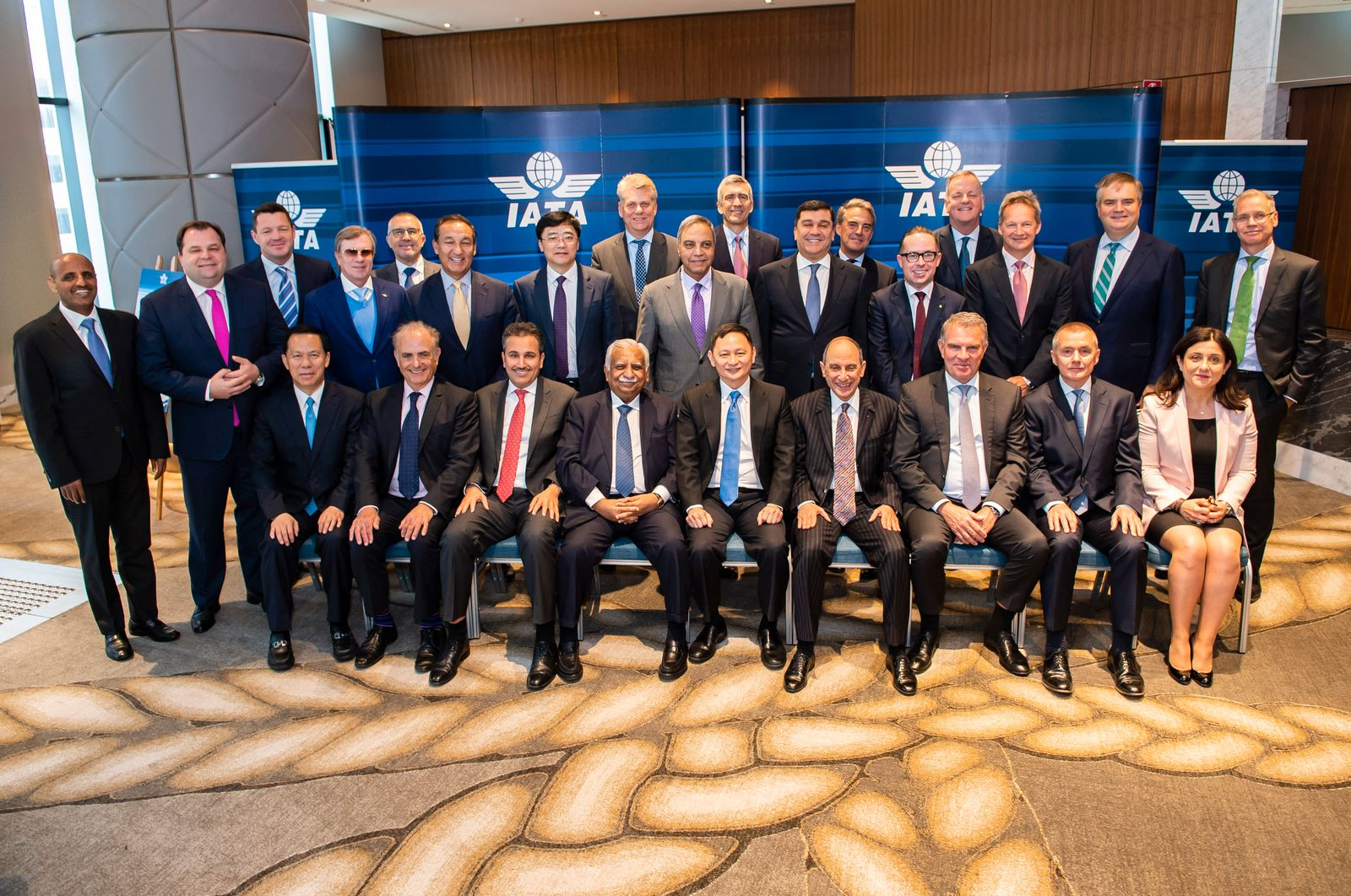EINMALIGE VERWENDUNG IATAs Board of Governors / IATA AGM 2018 Sydney