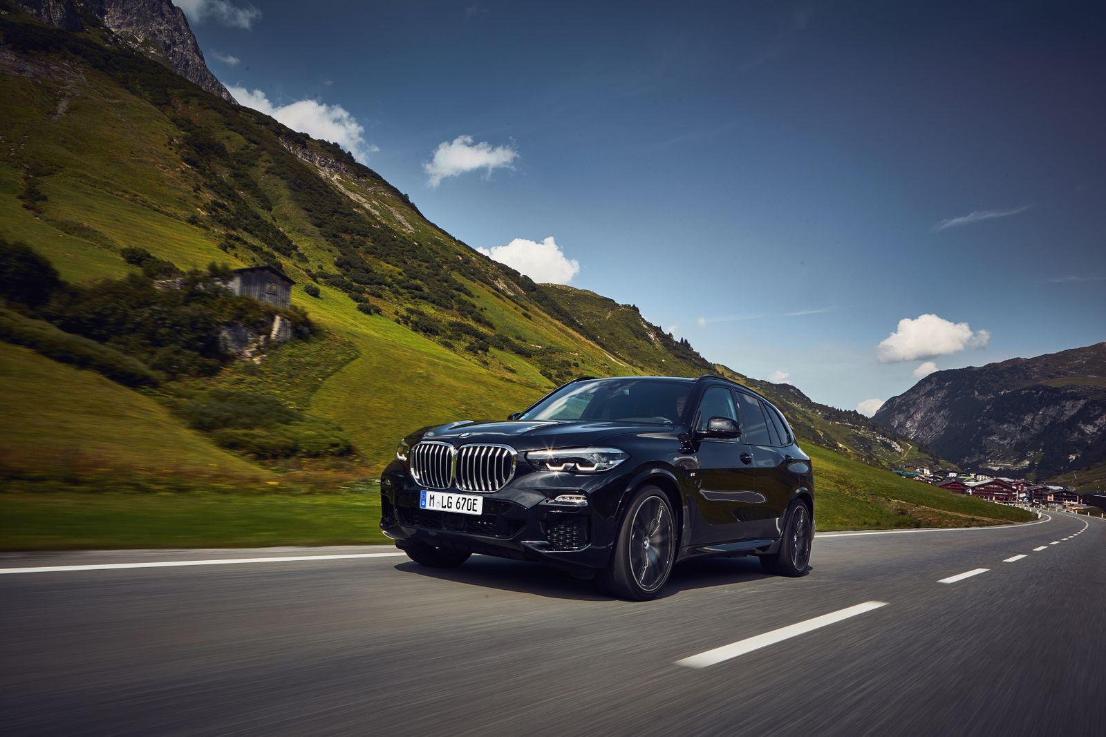 BMW X5 Plug in Hybrid / Ansicht vorne
