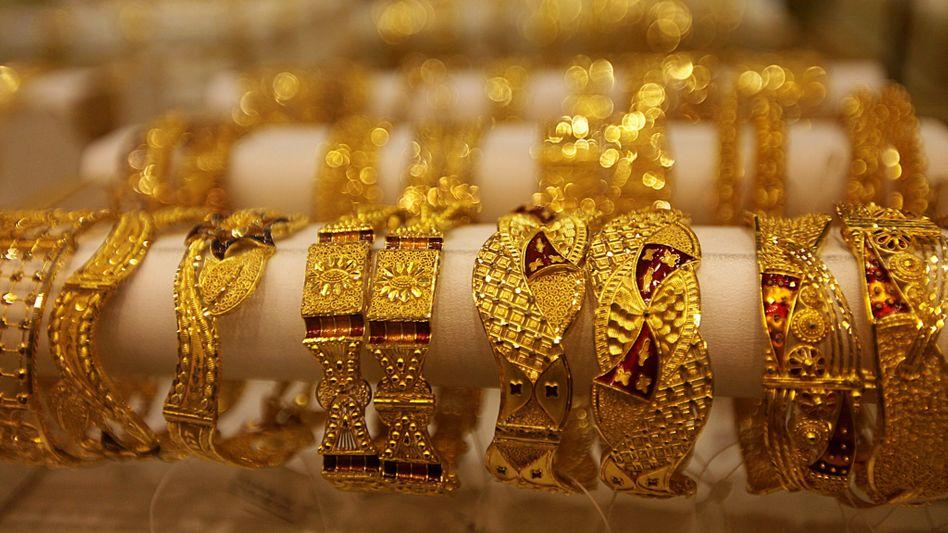 Goldschmuck: 450 Kilogramm Gold wurden gefunden, rund drei Tonnen sollten es sein