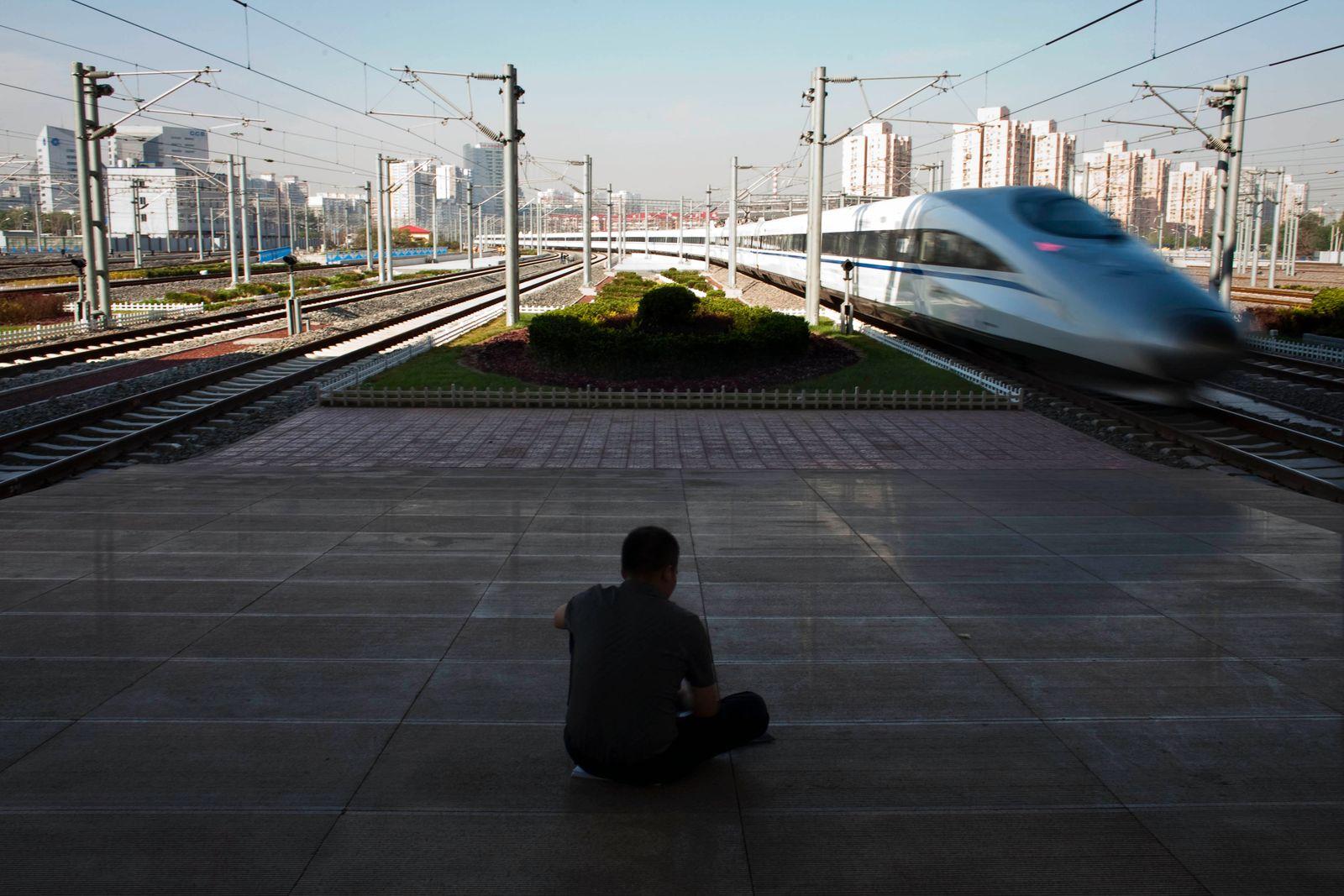 NICHT VERWENDEN China / Zug / Schnellzug / Hochgeschiwndigkeitszug / Peking