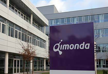 Insolvent: Qimonda-Zentrale in Dresden