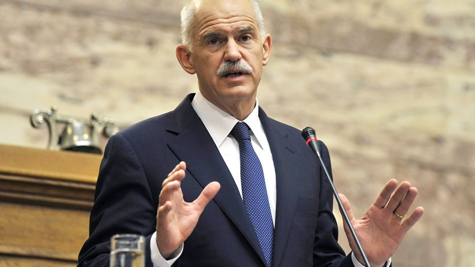 """Griechenlands Premier Papandreou: """"Ich klebe nicht an irgendeinem Stuhl"""""""