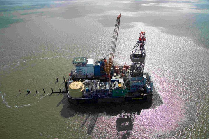 Bohrinsel Mittelplate in der Elbmündung: Schleswig-Holstein trägt so viel zur deutschen Ölversorgung bei wie Saudi-Arabien