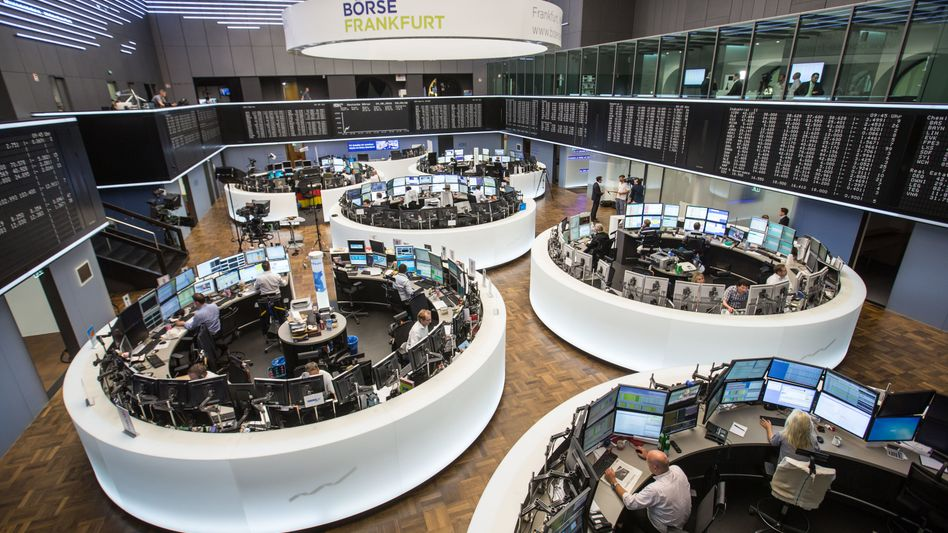 Handelssaal der Deutschen Börse in Frankfurt: Nur drei Unternehmen wagten sich in diesem Jahr an die Börse - 2018 waren es noch 16 Firmen