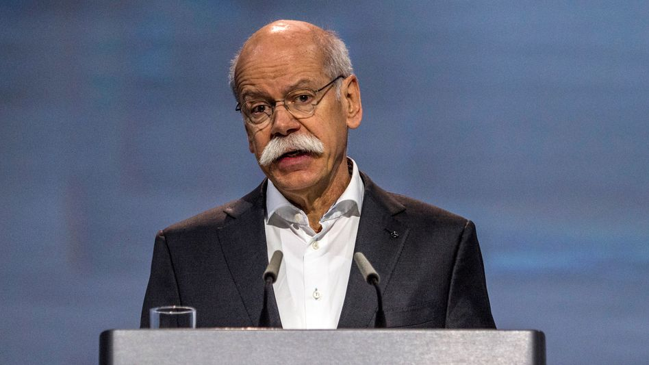 Sorry, sorry: Daimler-Chef Dieter Zetsche