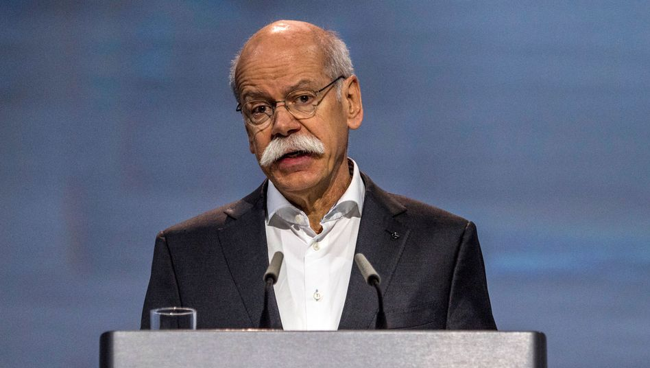 Sorry, sorry: Daimler-Chef Dieter Zetsche