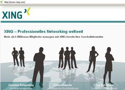 """Netzwerk für Geschäftige: """"Wenn ich mit den Leuten spreche, geben sie die Wahrscheinlichkeit, dass sie bei Xing neue Leute kennenlernen, die ihnen weiterhelfen, bei nahezu 100 Prozent an"""""""