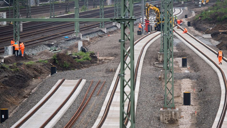 Deutschen Bahn bekommt über 50 Milliarden Euro vom Bund für den Ausbau