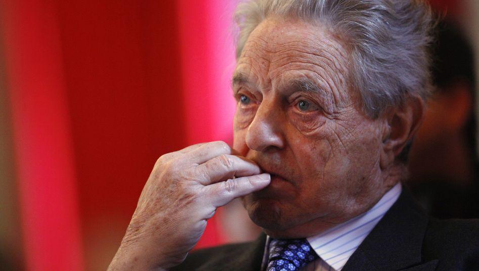 """Hedgefonds-Manager Soros: """"Es war das deutsche Zögern"""""""