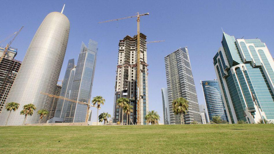 Neubauten in Doha: Die Credit Suisse will ihr Geschäft im arabischen Raum ausbauen