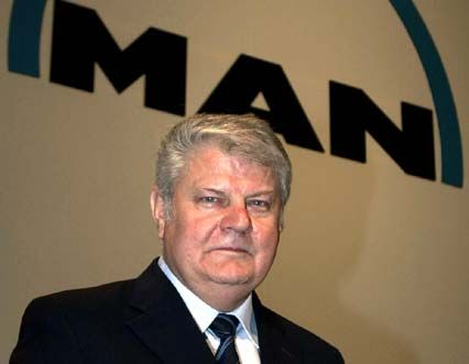 Geharnischtes Echo vom skandinavischen Partner: MAN-Vorstandschef Rudolf Rupprecht