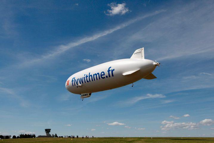 Zeppelin, der x-te Versuch: In Deutschland sind nur noch eine Handvoll der Fluggeräte zugelassen
