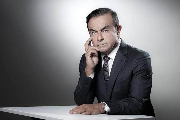"Von ""Le Cost Killer"" zum ""großen Ghoudini"": Carlos Ghosn."
