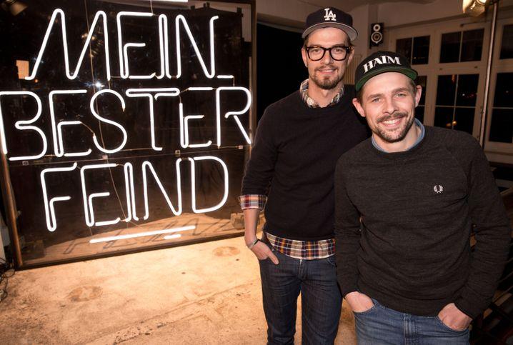 Aushängeschilder von ProSiebenSat1: die Moderatoren Joko Winterscheidt (links) und Klaas Heufer-Umlauf