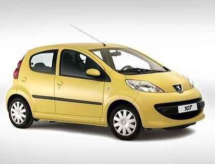 Kleinwagen aus dem Konzernbaukasten: Peugeot 107 ...