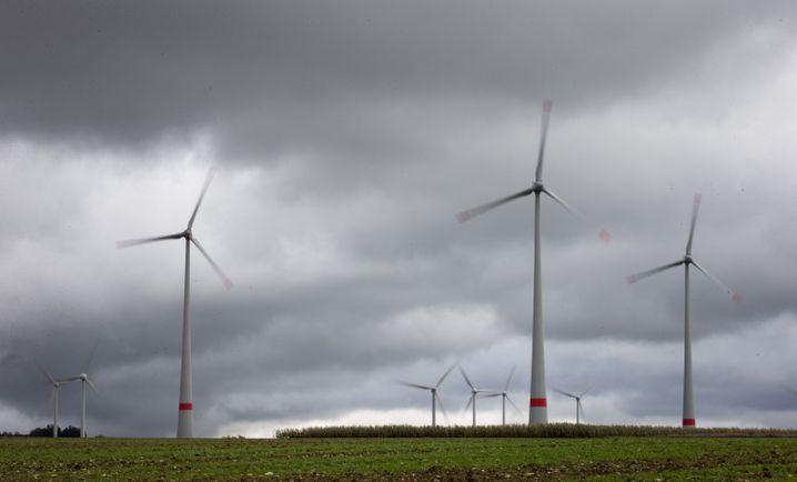 Windkraftanlagen bei Paderborn