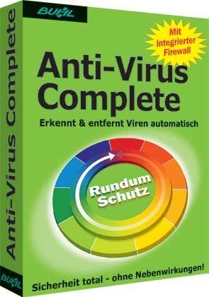 Schützt auch Messenger-User: Anti-Virus Complete