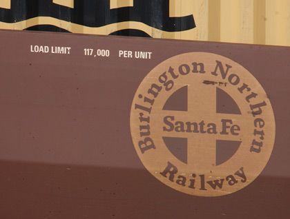 Objekt der Begierde: Die Frachteisenbahngesellschaft Burlington Northern Santa Fe verfügt über ein Schienennetz quer durch die USA