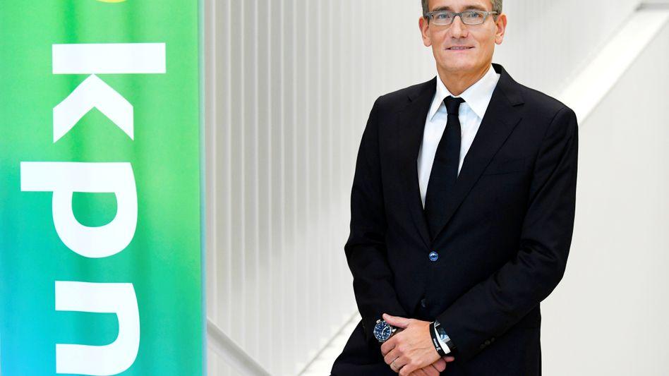 Maximo Ibarra: Der Chef des niederländischen Telekom-Konzerns KPN kündigt überraschend seinen Rücktritt an