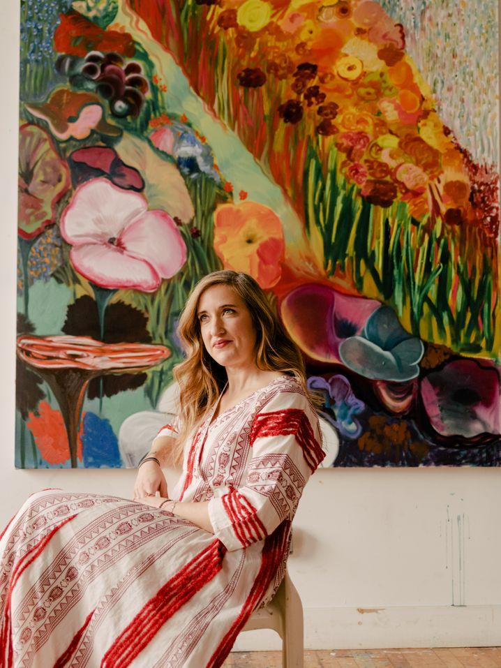 Aufsteigerin: Shara Hughes, geboren nach 1980, ist eine der jungen Stars in der Kunstwelt.