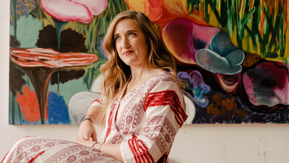 Geboren nach 1980: Shara Hughes ist eine der jungen Aufsteigerinnen. Große Galerien und die Schau im Whitney Museum förderten sie. Instagram-Fans: 26.000.