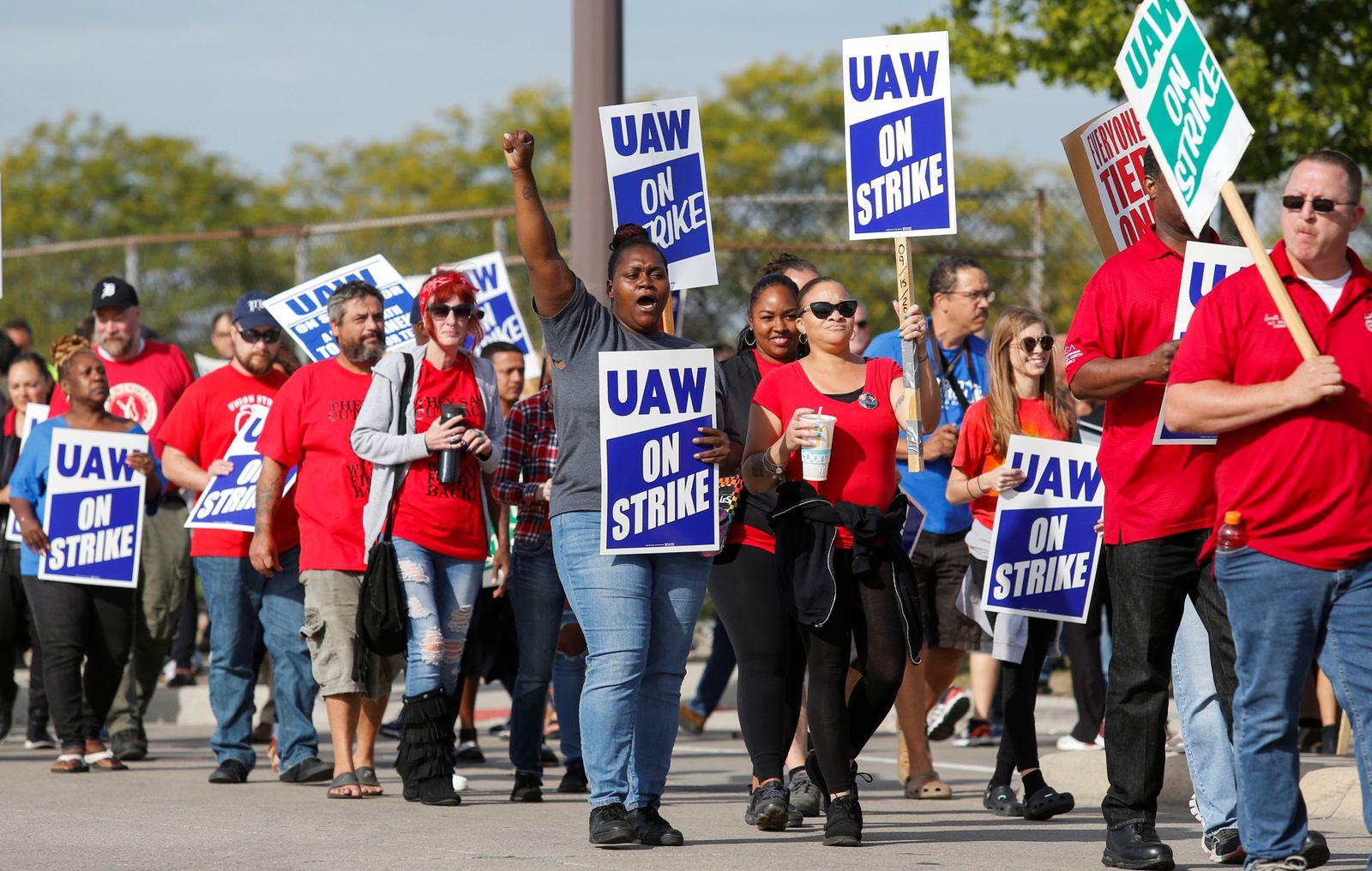 General Motors Streik / UAW / United Auto Workers
