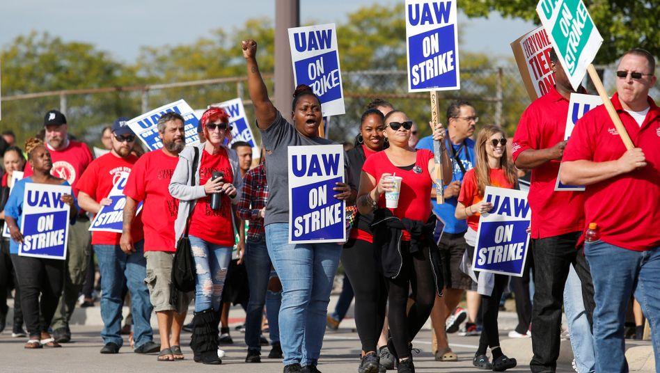 40 Tage streikten zahlreiche Mitarbeiter bei General Motors.