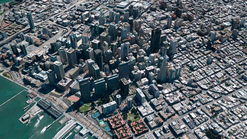 San Francisco in 3D: Google verbessert seine Kartendienste