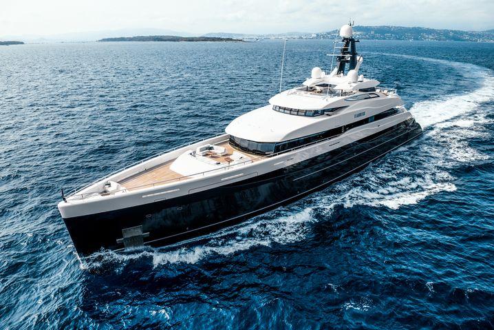Elandess: Die Yacht mit der eingebauten Unterwasserwelt