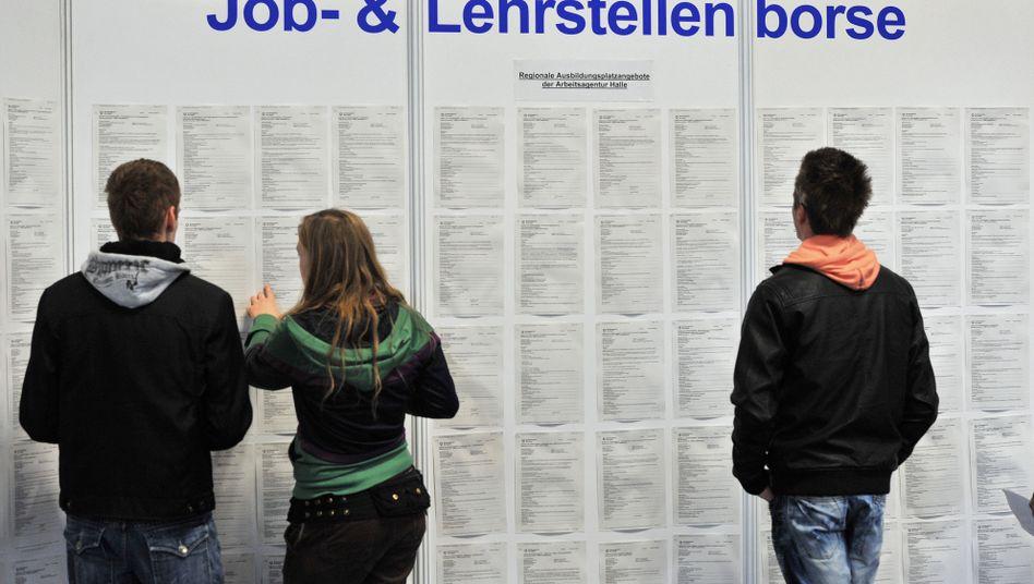 Mehr Jobs für junge Leute: Jugendarbeitslosigkeit zuletzt gefallen
