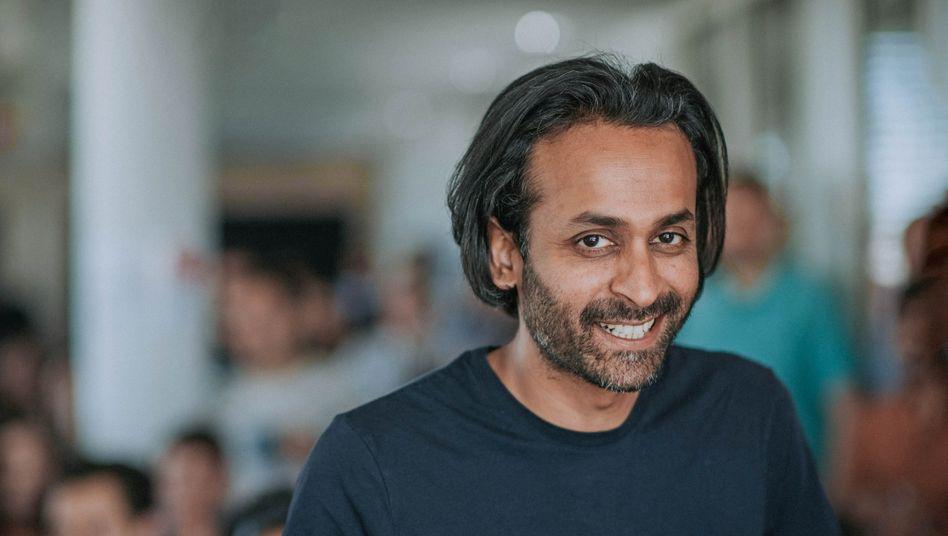 Grund zur Freude: Omio-CEO Naren Shaam