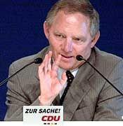 """Erklärte das """"System Kohl"""" für beendet: Wolfgang Schäuble"""
