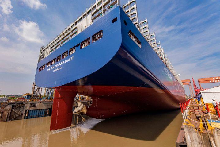 Dicke Pötte wieder gefragt: Reeder kaufen wieder mehr Containerschiffe