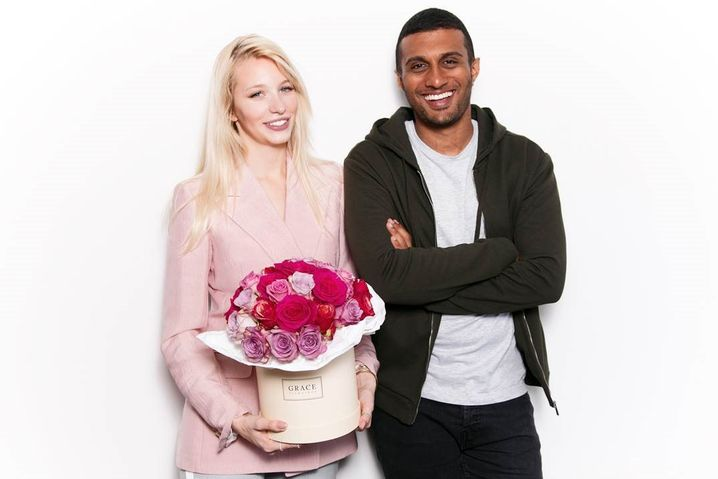 """Grace flowerbox""-Gründer Nina Wegert und Kirishan Sevarajah"