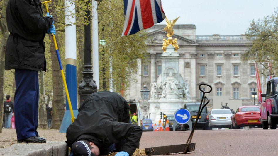 """Nicht nur in London ist Vorsicht geboten: Auch das Internet birgt Fallen rund um das Thema """"Kate und William"""""""