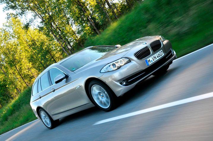 BMW 5er: Bei den Verkaufszahlen deutlich vor seinen Konkurrenten in der oberen Mittelklasse