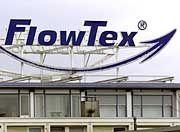 Vergangenheit: Flowtex-Zentrale in Ettlingen