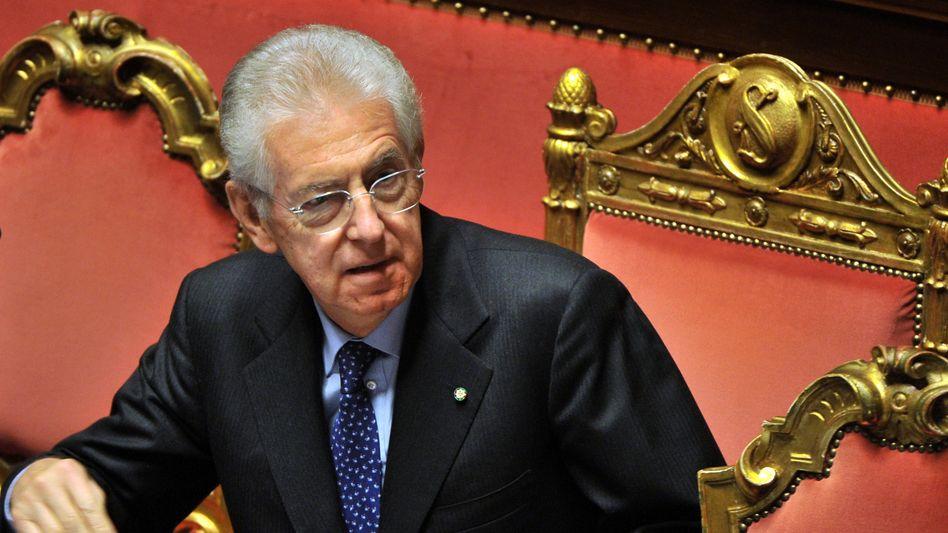 Italiens Premier Mario Monti: Vorerst auf sich allein gestellt