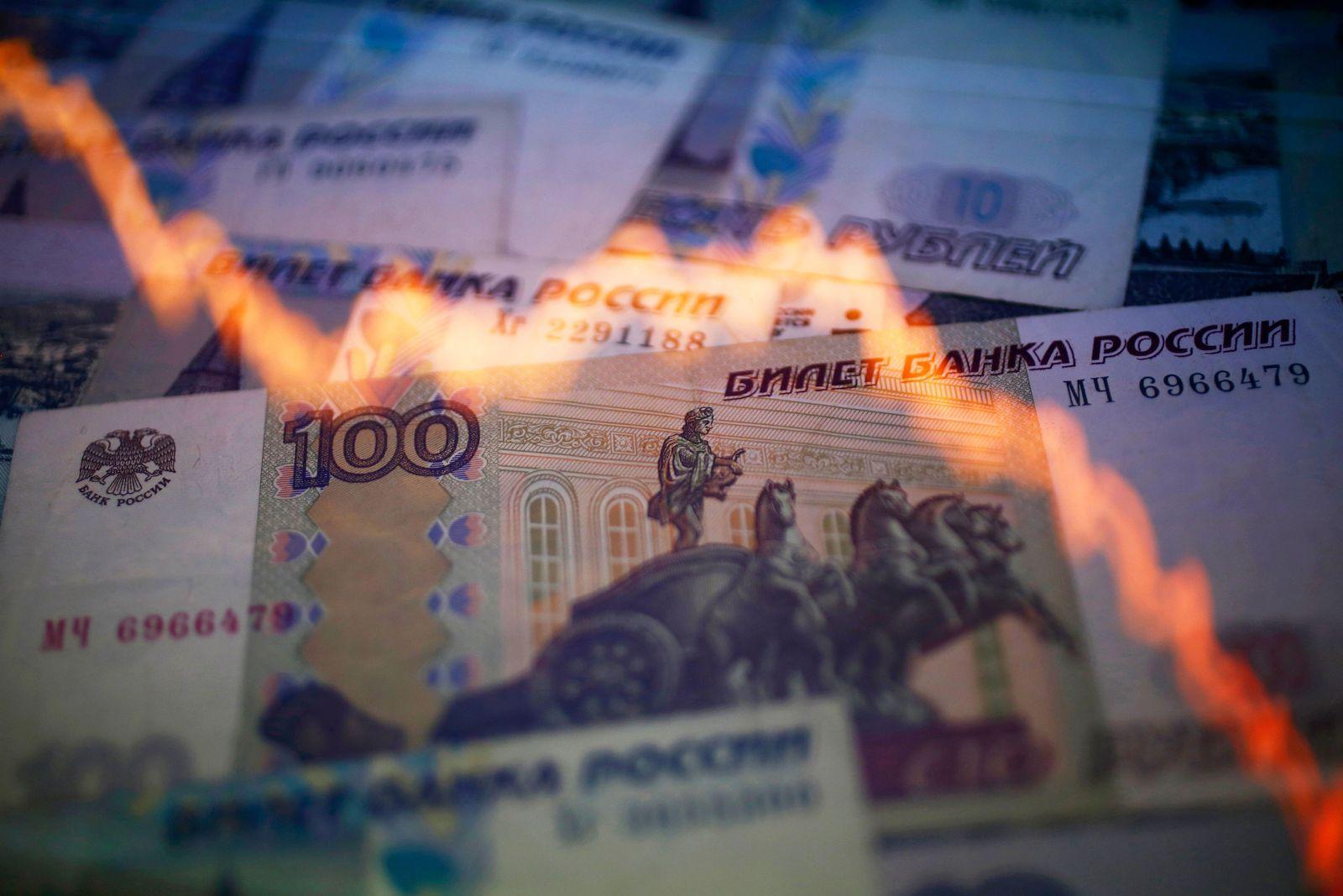 Russland / Wirtschaft / Rubel / Chart
